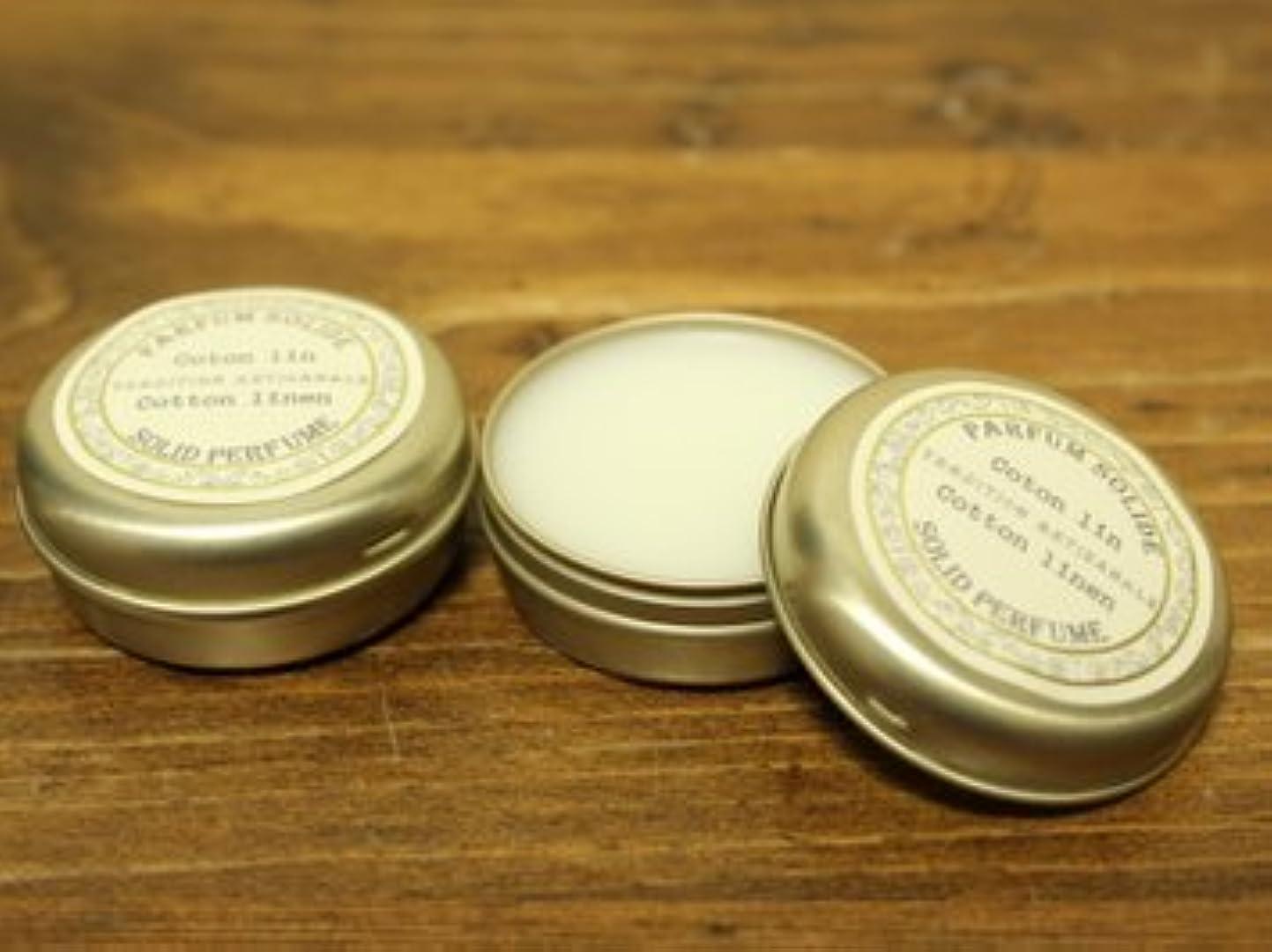ダニ統合する熱心なSenteur et Beaute(サンタールエボーテ) フレンチクラシックシリーズ 練り香水 10g 「コットンリネン」 4994228023056