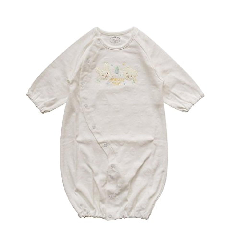 コットンスムース 日本製 新生児ツーウェイオール