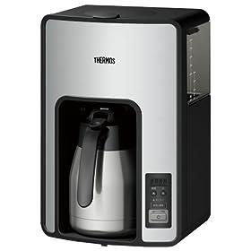 サーモス 真空断熱ポット コーヒーメーカー 【タイマーで前日予約が可能】 ECH-1000 CS
