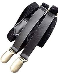 (ネルロッソ) NERLosso サスペンダー 本革 レザー メンズ スーツ ベルト 紳士 ビジネス カジュアル 正規品 cmj24168