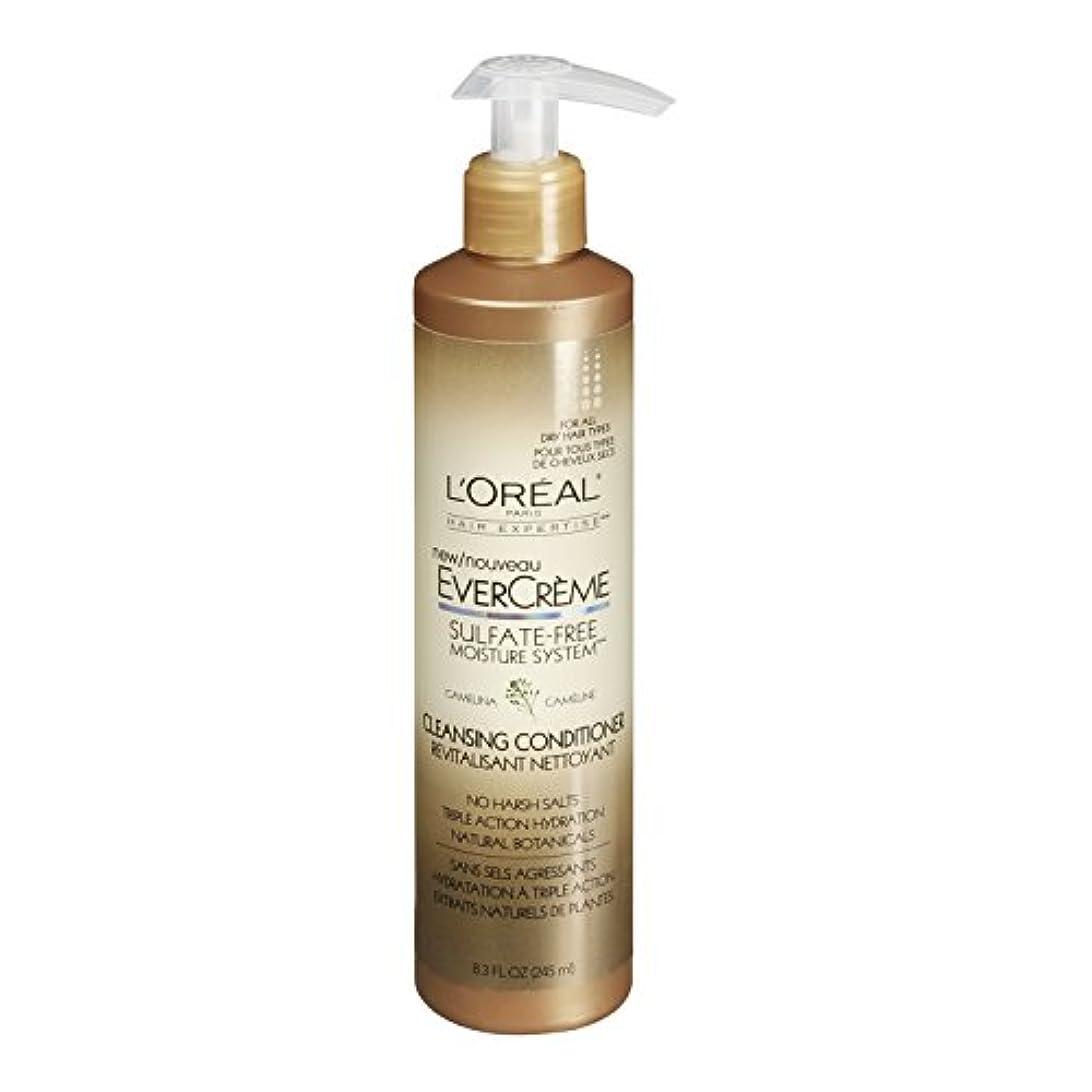 結果訴える姿勢L'Oreal Paris EverCreme Sulfate-Free Moisture System Cleansing Conditioner, 8.3 fl. Oz. by L'Oreal Paris Hair...