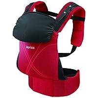 アップリカ(Aprica) だっこひも コラン ハグ AB コンフォート レッド RD (つかれにくい腰ベルトタイプ + 新生児シート同梱 + 5Wayタイプ) 39460 新SG対応モデル