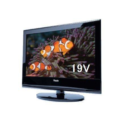 ユニテク 東芝製NEW地デジ回路搭載 Visole 地デジハイビジョン液晶テレビ19型LCU1901E