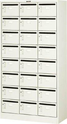 トラスコ中山 メールボックス 24人用 900X380XH1700 MV24P