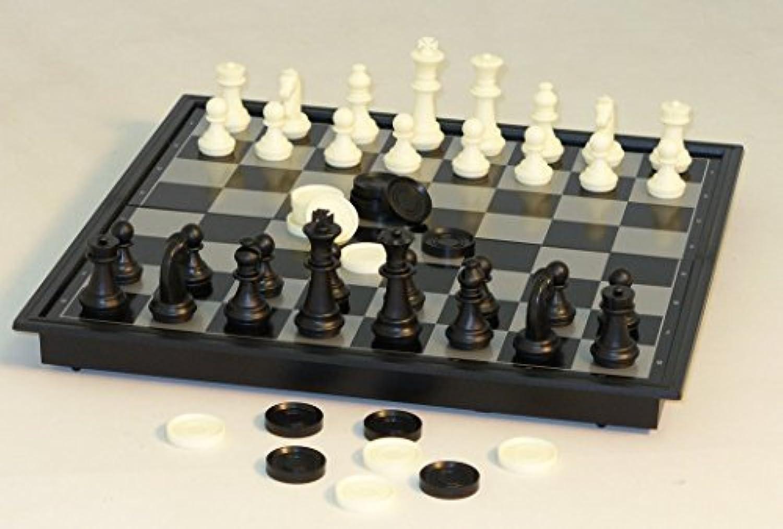 Magnetic 10' Folding Board Chess [並行輸入品]