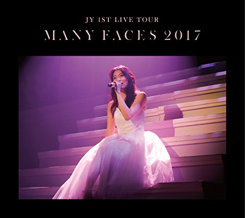 """JY 1st LIVE TOUR""""Many Faces 2017""""(初回生産限定盤) [Blu-ray]"""