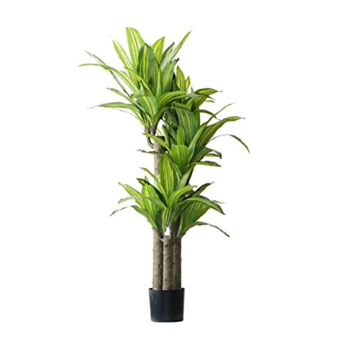 ウッズ扇動ルー人工木 新しい大規模な偽木緑化植物の香り龍の血の木盆栽人工樹木人工植物のホームデコレーション 偽の木 (サイズ : 155cm)