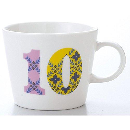 小倉陶器 ナンバーズ マグカップ 10 小倉陶器