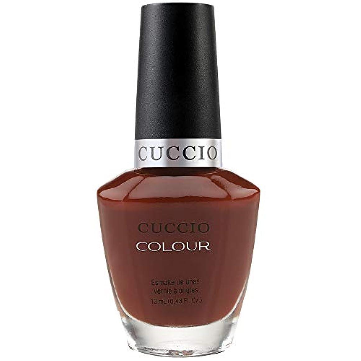 ストッキング申し込むムスCuccio Colour Gloss Lacquer - Brew Ha Ha - 0.43oz / 13ml