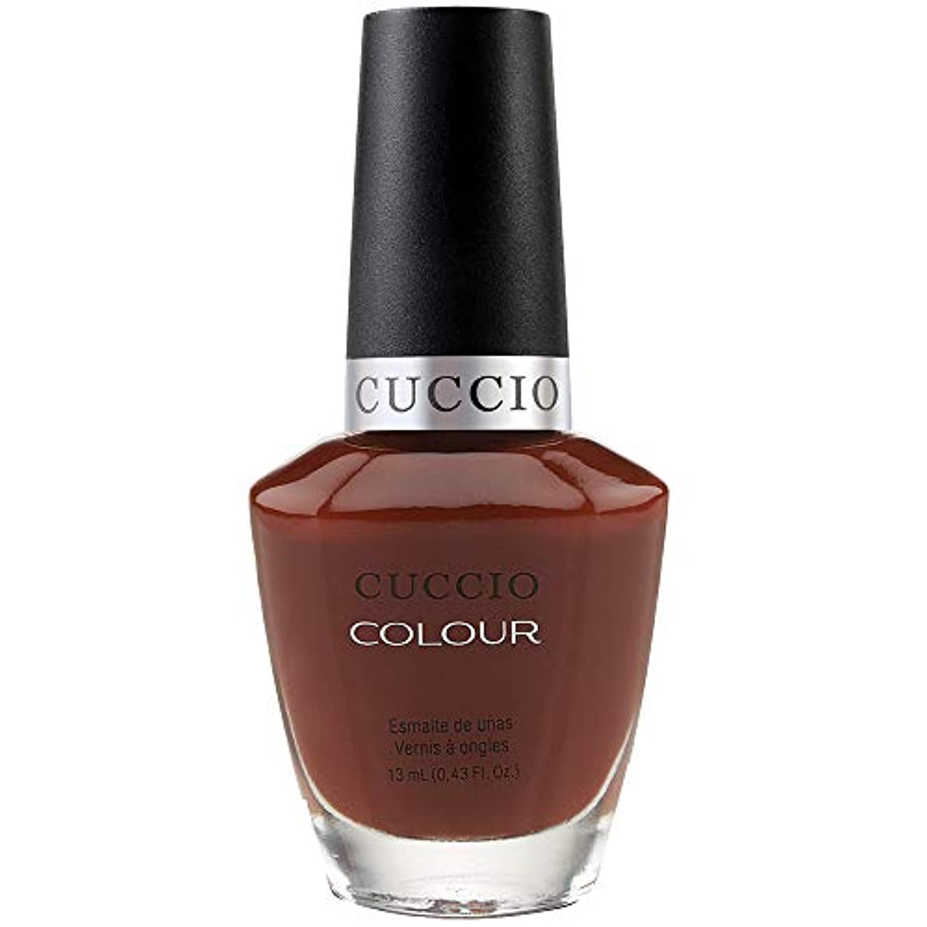 法医学ベッド数字Cuccio Colour Gloss Lacquer - Brew Ha Ha - 0.43oz / 13ml