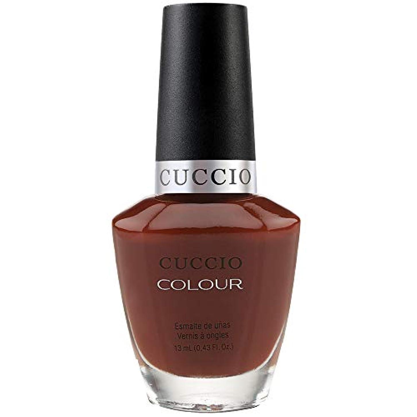 消える意外運河Cuccio Colour Gloss Lacquer - Brew Ha Ha - 0.43oz / 13ml