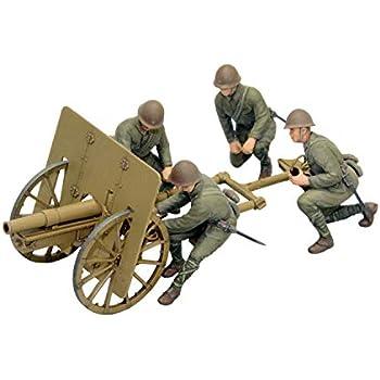 ファインモールド 1/35 日本陸軍 四一式山砲 山砲兵 プラモデル FM38