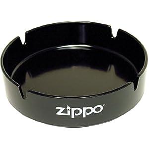 ZIPPO(ジッポー) 灰皿 卓上用 ロゴ入り ブラック [正規輸入品]