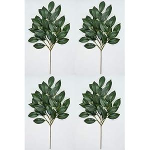 榊 (さかき) 造花 リアル品質タイプ 二対 (4個セット)