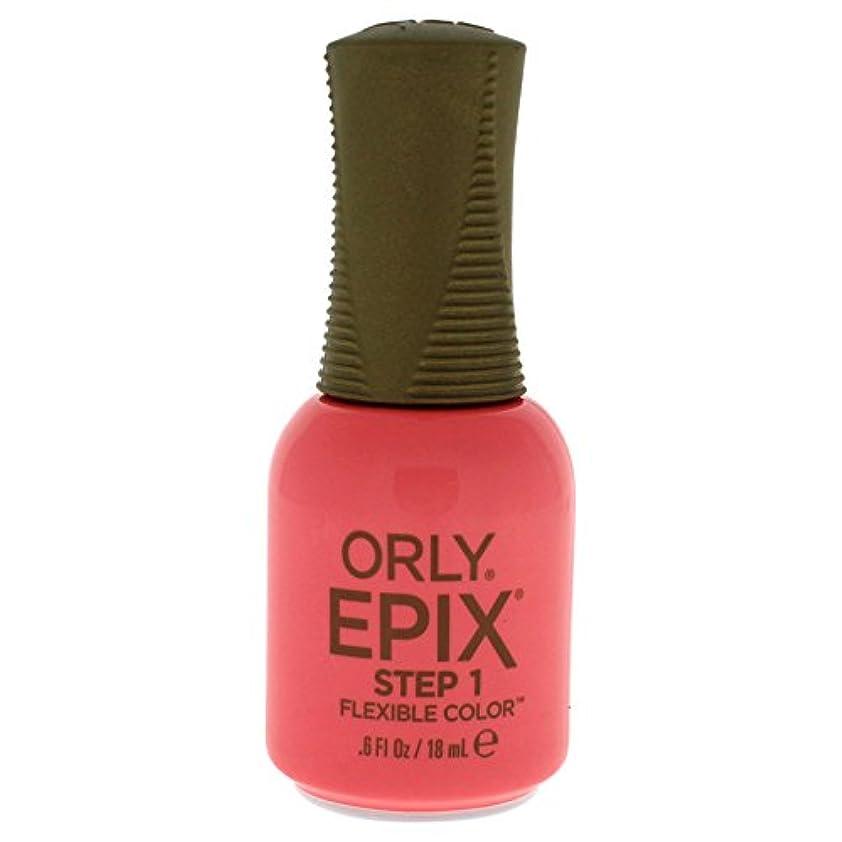 ホームレス堤防配管工Orly Epix Flexible Color Lacquer - Trendy - 0.6oz/18ml