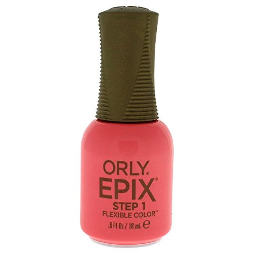感覚可塑性見習いOrly Epix Flexible Color Lacquer - Trendy - 0.6oz/18ml