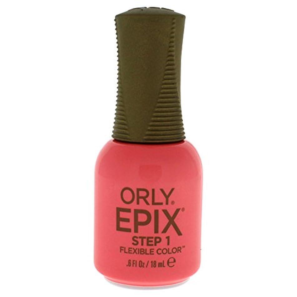 知覚できる荒野試みるOrly Epix Flexible Color Lacquer - Trendy - 0.6oz/18ml