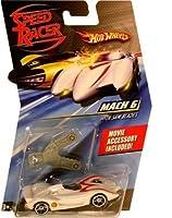 Hot Wheels Speed Racer 1:64 Die Cast Car Mach 6 with Saw Blades
