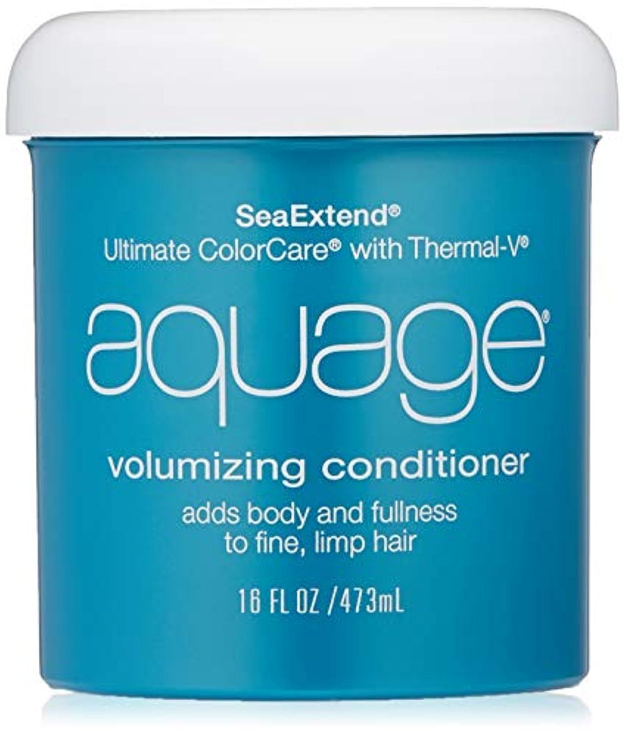 章指紋理容室by Aquage SEA EXTEND VOLUMIZING CONDITIONER FOR FINE HAIR 16 OZ by AQUAGE