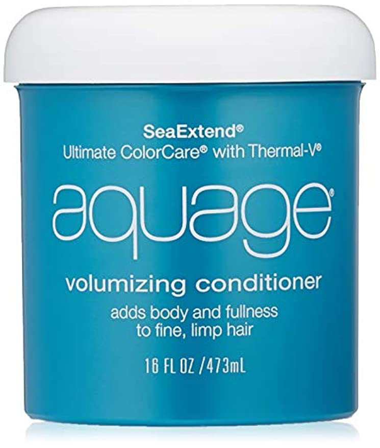 全能ぼろ瞳by Aquage SEA EXTEND VOLUMIZING CONDITIONER FOR FINE HAIR 16 OZ by AQUAGE