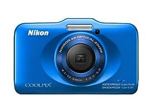 Nikon デジタルカメラ COOLPIX S31 防水5m 耐衝撃1.2m ブルー S31BL