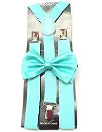 Fashion Suspender ACCESSORY ユニセックス?アダルト US サイズ: 30 Inch カラー: ブルー