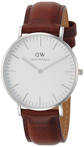[ダニエル・ウェリントン]DanielWellington 腕時計 Classic St Mawes ホワイト文字盤 カーフレザーベルト DW00100052 【並行輸入品】