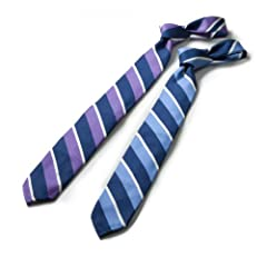 Breuer Unlined Regimental Tie