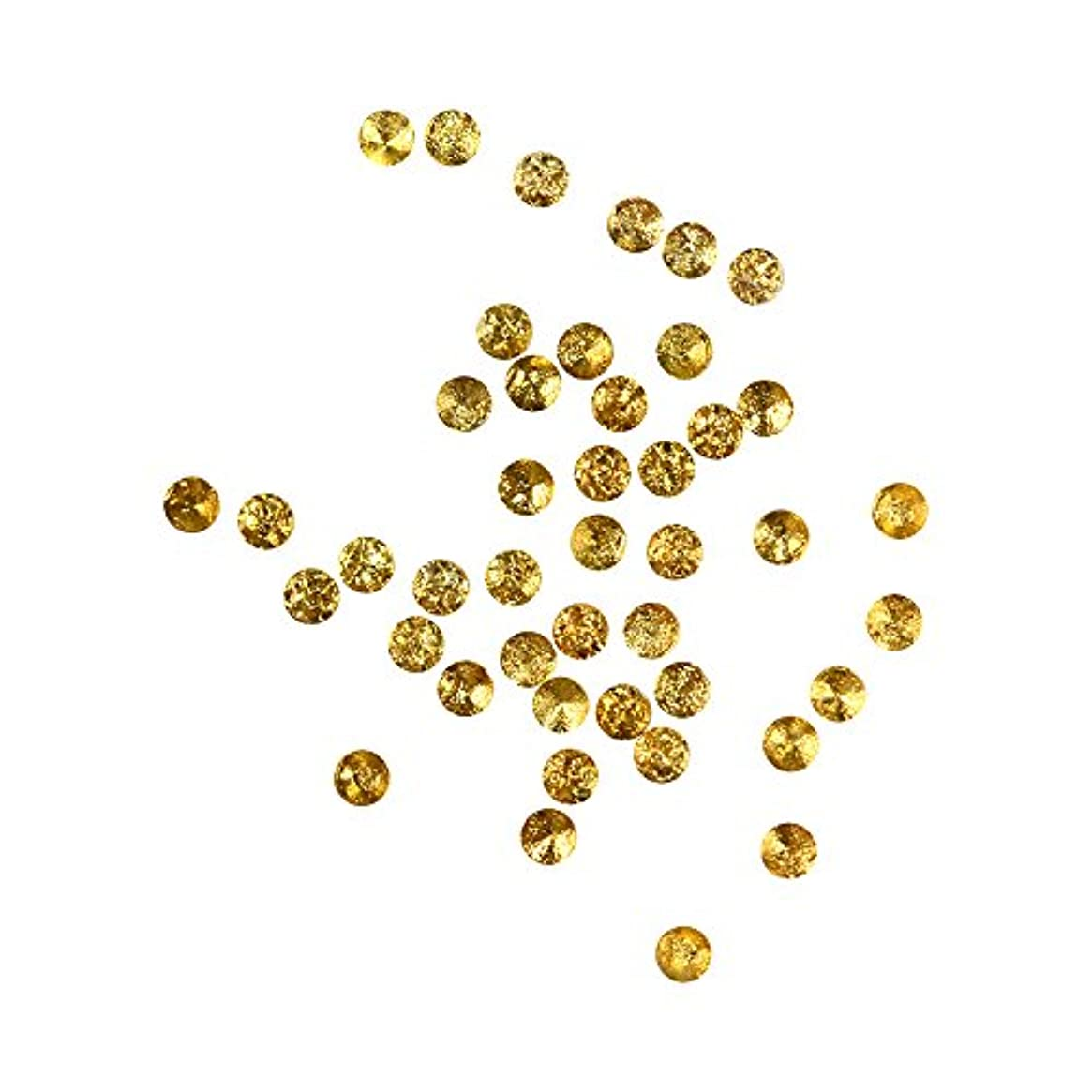 気配りのある磁石配当Bonnail ラフスタッズゴールド ラウンド1mm