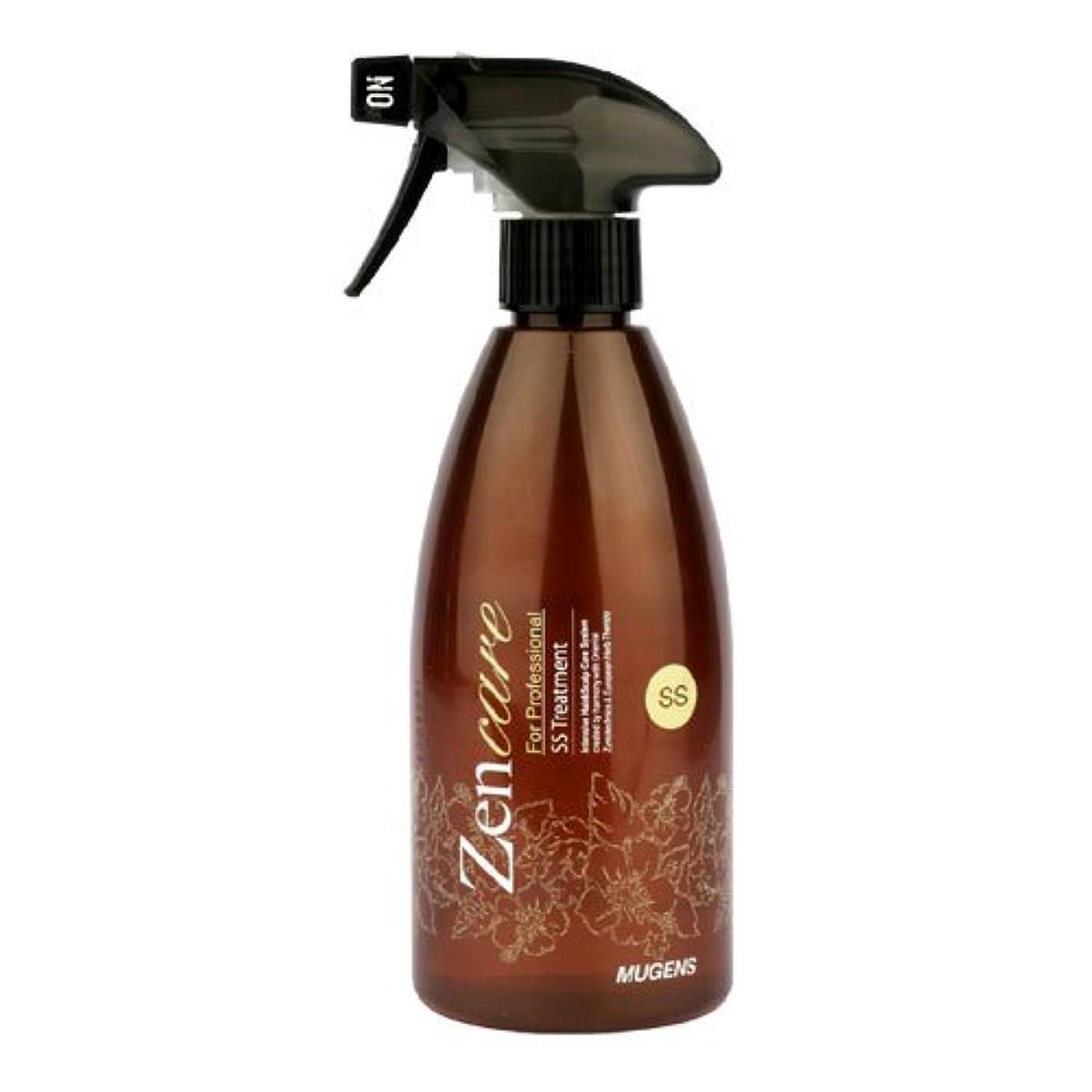 さびたそれ飛躍Mugens Zen Care SSヘアトリートメント500ml ダメージヘア -パーマ/染色/ブリーチ -集中ヘアケア (Mugens Zen Care SS Hair Treatment 500ml for Damaged...