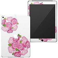 igsticker 第6世代 第5世代 iPad 9.7インチ iPad 6 / 5 2018/2017年 モデル A1893 A1954 A1822 A1823 全面スキンシール apple アップル アイパッド タブレット tablet シール ステッカー ケース 保護シール 背面 015399 バラ 花 ピンク