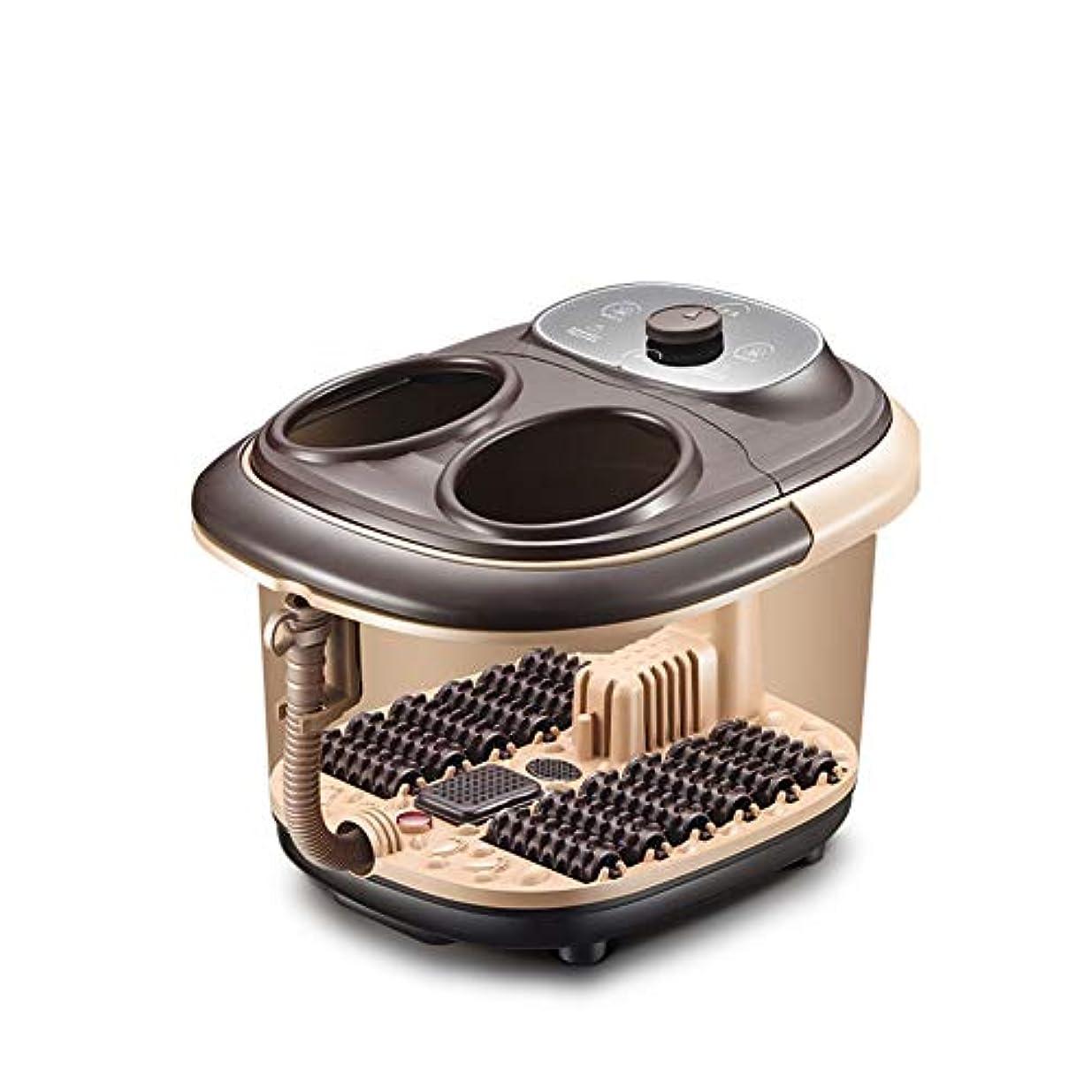 甥弾力性のある家族マッサージ フットバス,足湯 熱を持つ,comfortology リークプルーフ 赤外線を和らげる 薬ボックス ハンドルを運ぶ-a 38x32x45cm(15x13x18inch)