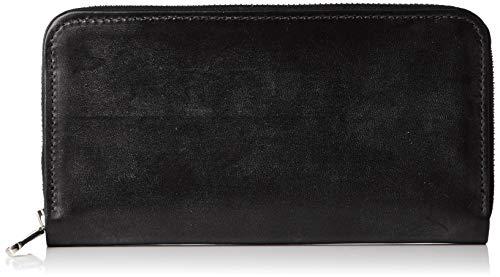 [ホワイトハウスコックス] 財布 S2722 LONG ZIP WALLET 長財布 S2722 BLACK [並行輸入品]