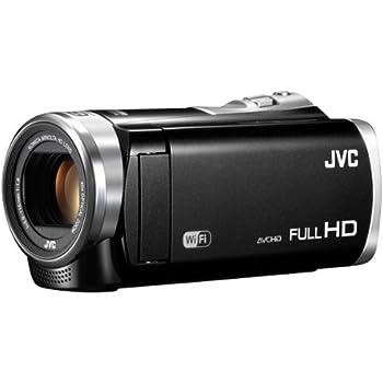 JVCKENWOOD JVC ビデオカメラ EVERIO GZ-EX370 内蔵メモリー32GB クリアブラック GZ-EX370-B
