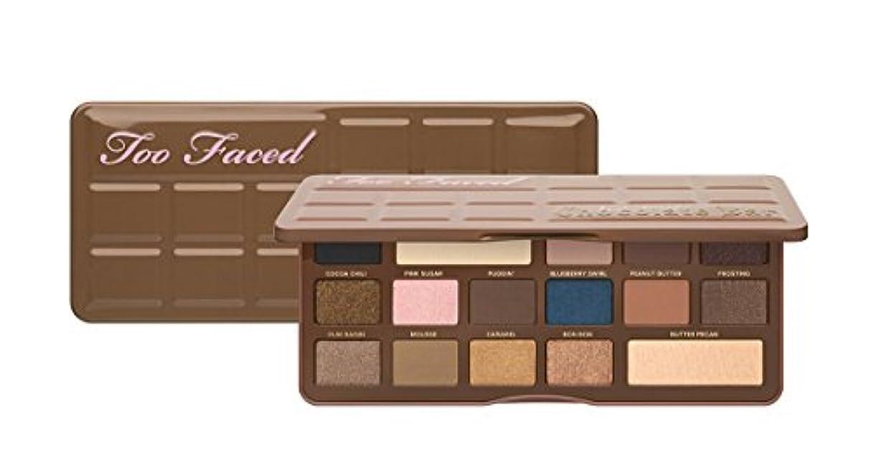 幾何学移動時計回りToo Faced Semi-Sweet Chocolate Bar Eye Shadow Collection トゥフェイス