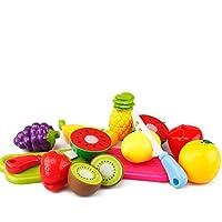 Vi.yo おままごと ごっこ遊び 包丁 切る 野菜 果物 赤ちゃん 子供 おもちゃ 知育玩具 セット