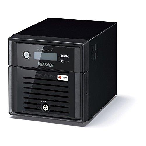 バッファロー テラステーション ウイルスチェック 管理者 RAID機能搭載 2ドライブNAS 4TB TS5200DN0402V5