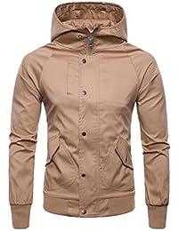 Fly Year-JP メンズ冬ロングスリーブは、パーカーコートジャケットとフーディー