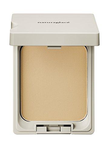 ナチュラグラッセ クリアパウダー ファンデーション OC1 (やや黄みよりの明るめの肌色) 11g SPF40 PA++++ パフ付き