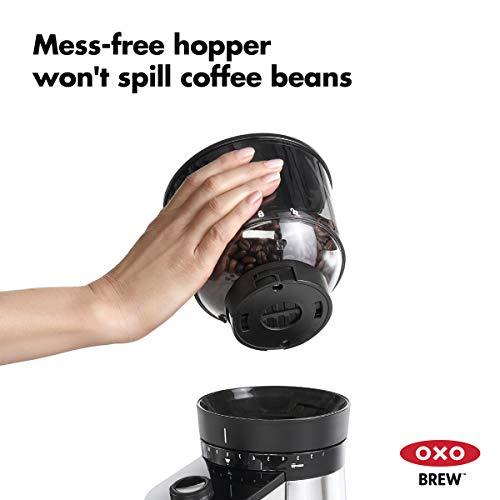 オクソー ON コーヒーグラインダー 電動式 バリスタブレイン スケール付き 国内仕様 8710200