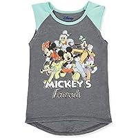 Disney Girls Mickey Mouse & Friends Sleeveless T-Shirt Tank Top