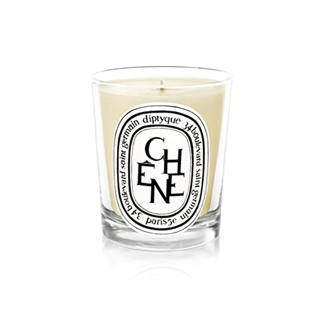 Diptyque Candle Ch??ne / Oak Tree 190g (Pack of 2) - DiptyqueキャンドルCh??Ne/樫の木の190グラム (x2) [並行輸入品]