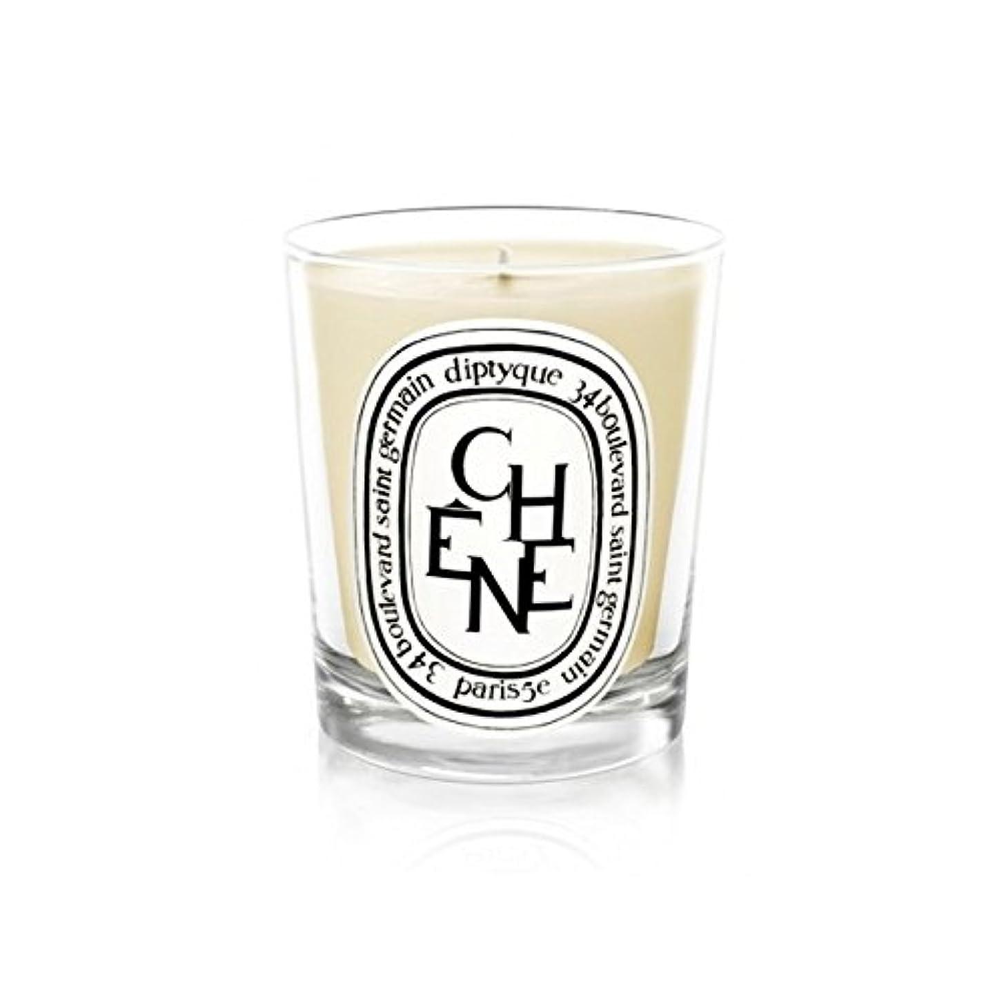 公式新しい意味廃棄Diptyque Candle Ch??ne / Oak Tree 190g (Pack of 2) - DiptyqueキャンドルCh??Ne/樫の木の190グラム (x2) [並行輸入品]