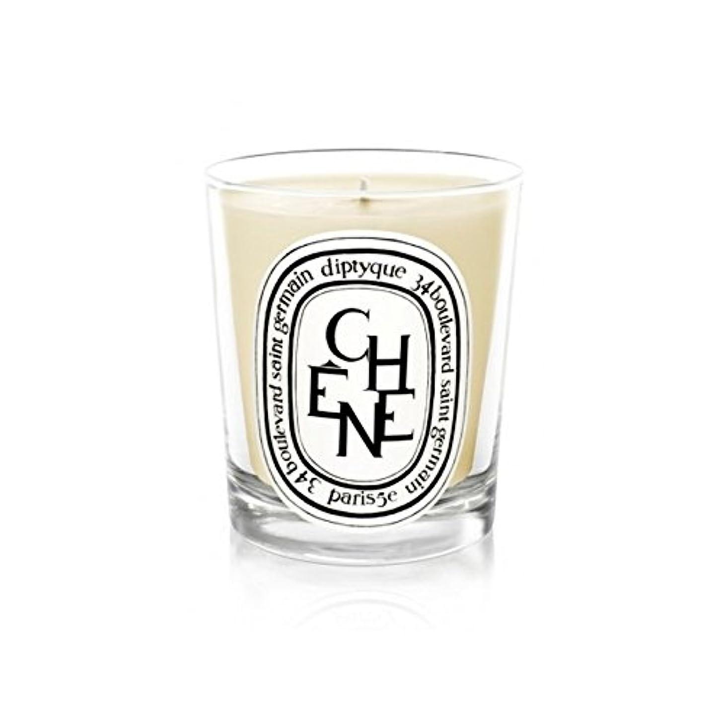 肥料縞模様の制限するDiptyque Candle Ch??ne / Oak Tree 190g (Pack of 2) - DiptyqueキャンドルCh??Ne/樫の木の190グラム (x2) [並行輸入品]