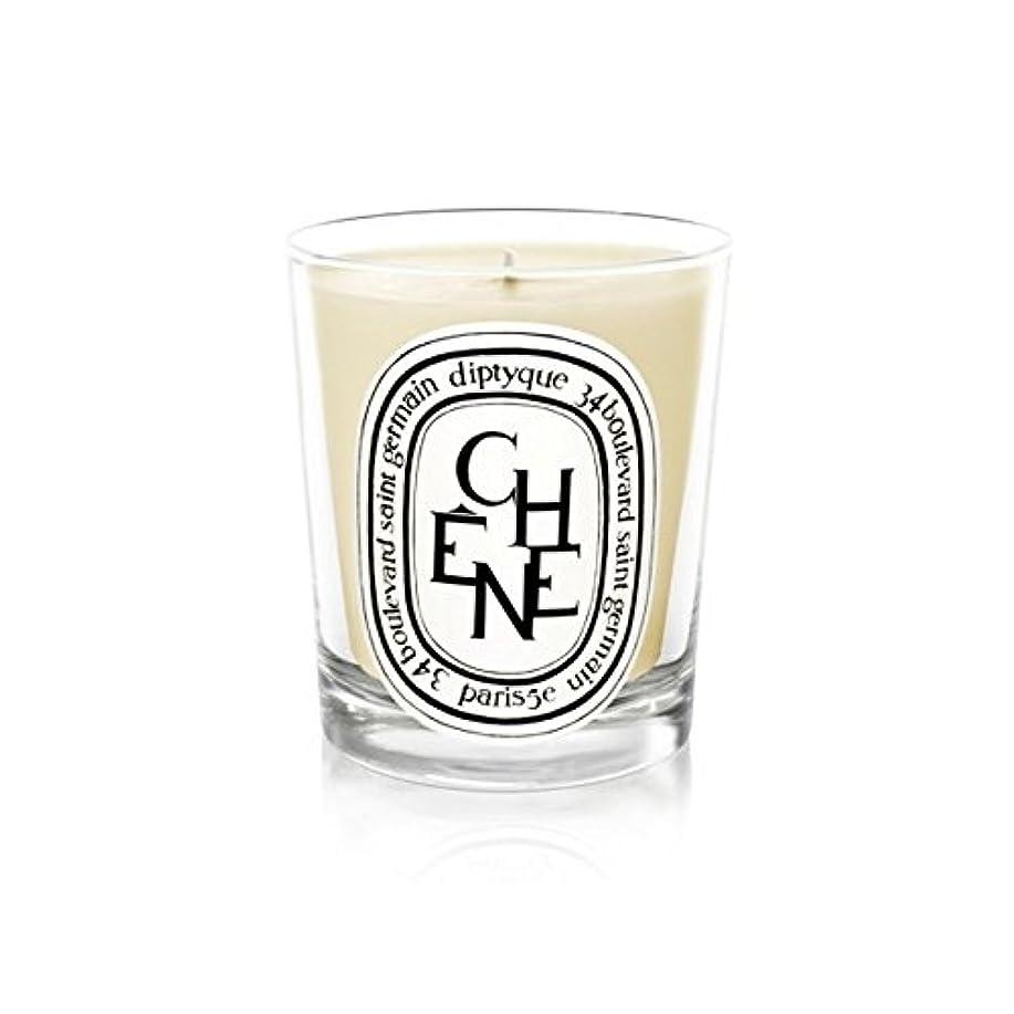 欺く耳予感Diptyque Candle Ch??ne / Oak Tree 190g (Pack of 2) - DiptyqueキャンドルCh??Ne/樫の木の190グラム (x2) [並行輸入品]