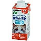 キャティーマン ネコちゃんの牛乳 シニア猫用 200ml×24本セット