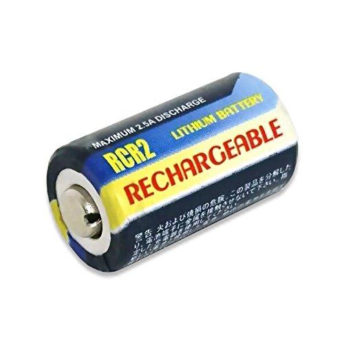 【充電式】[繰り返し] CR-2/CR2 互換 リチウム 充電池 3V 【ロワジャパンPSEマーク付】