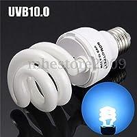 FidgetGear 5.0 / 10.0 UVB 13Wコンパクトライト蛍光砂漠テラリウム爬虫類ランプ UVB Output One size