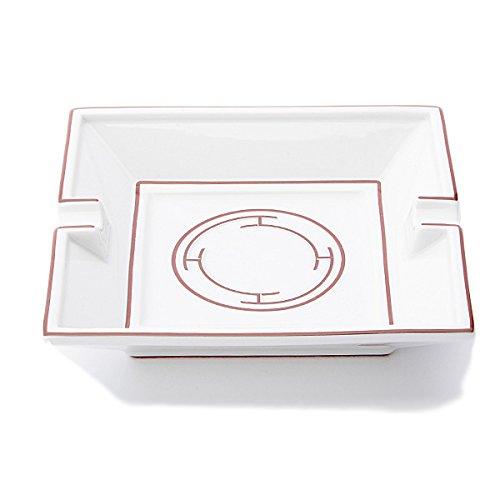 (エルメス) HERMES エルメス リズムレッド HERMES 004475P RYTHME RED Cendrier Carry Square ashtray スクエア灰皿[並行輸入品]