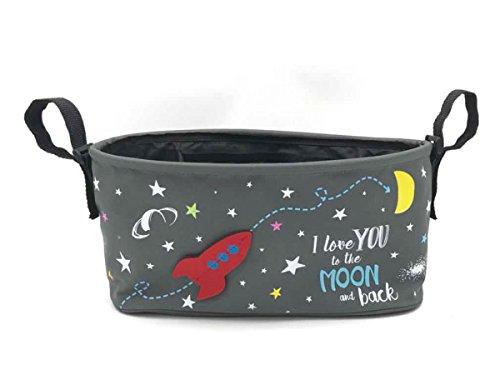ベルニコ Choopie(チューピィー)ベビーカーに簡単に取り付けられるマルチなオーガナイザー『City Bucket (...